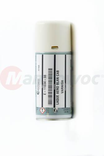 E-11034-98 - LAQUE AERO BLAN SATINE CAB