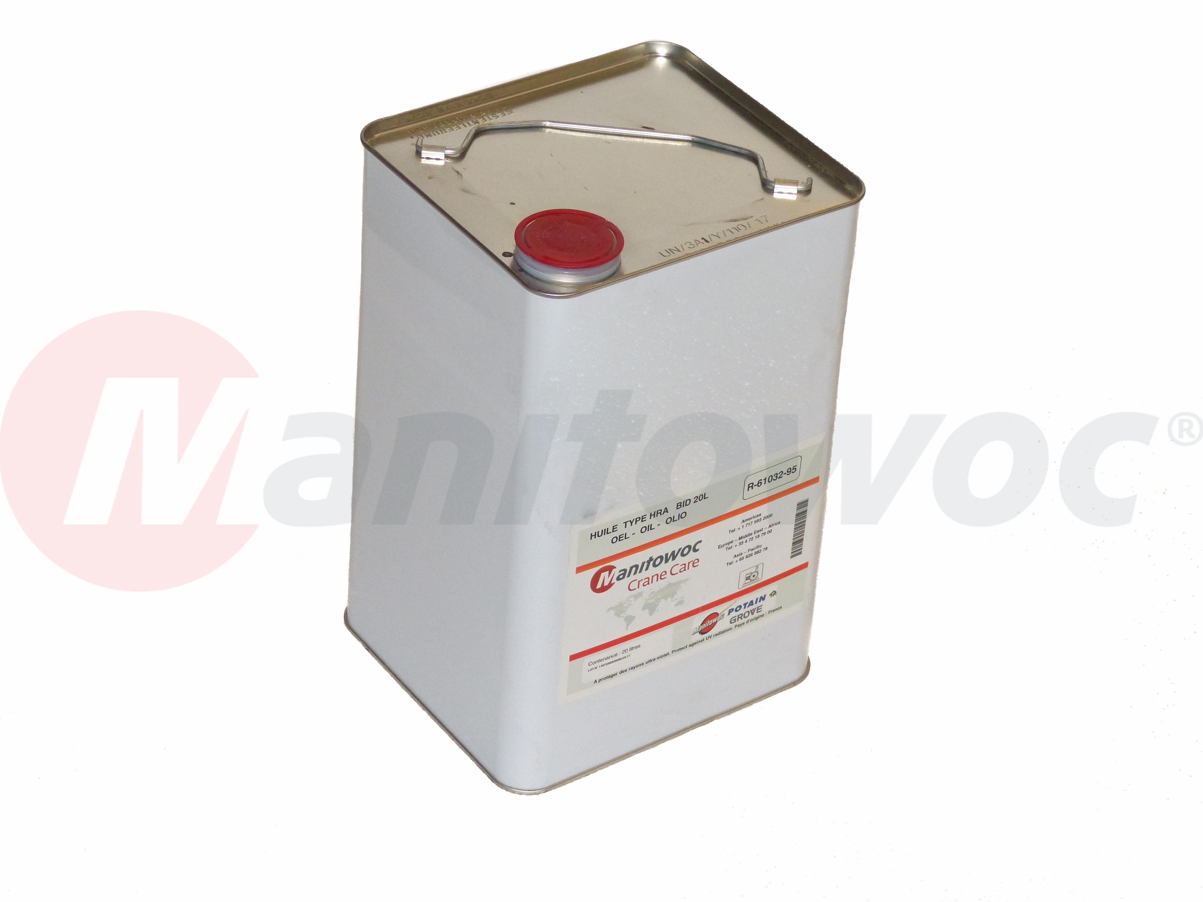 R-61032-95 - HUILE TYPE HRA BIDON 20L
